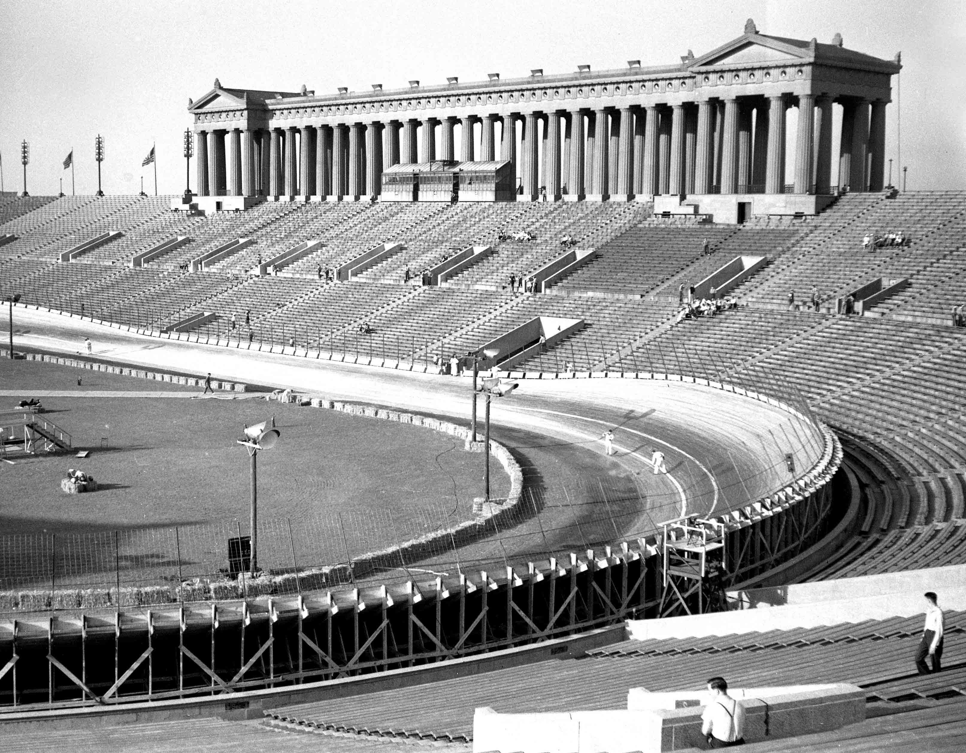 Soldier Field Stock Car Racing